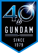 GUNDAM 40th since 1979